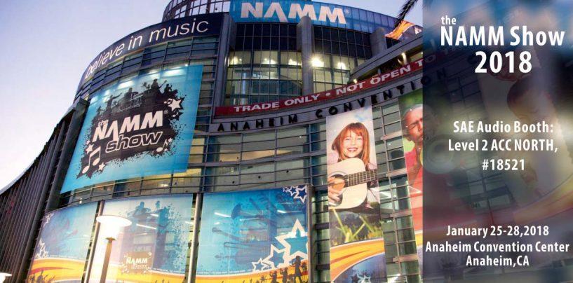 NAMM 2018: SAE presentará su nuevo procesador de altavoz LP48 en el evento