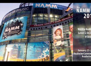 NAMM 2018: Verity Audio ya está listo para que inicie el show