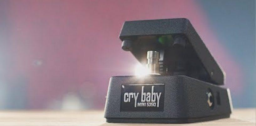 Ya puede tener en sus manos el nuevo Cry Baby Mini 535Q Wah de Dunlop