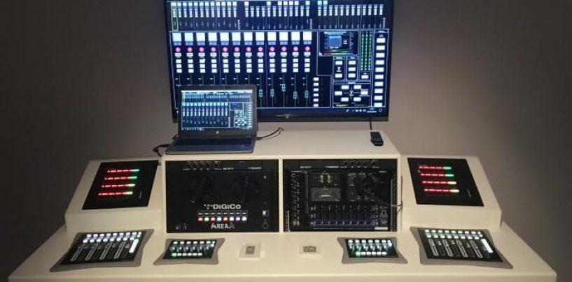 DiGiCo anunció su nueva solución de audio instalado 4REA4