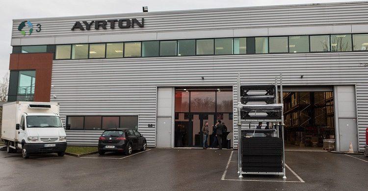 Ayrtons new head offices in Villebon Sur Yvette