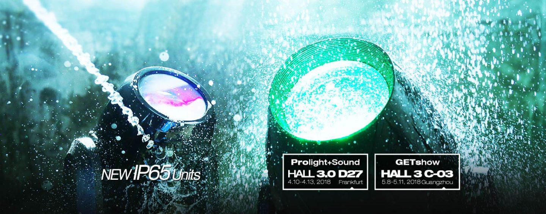 Prolight + Sound 2018: PR Lighting mostrará ocho luminarias nuevas