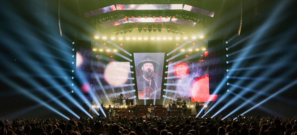 "Cuepix Blinder WW2 deslumbra en la gira ""Welcome Home"" de Zac Brown Band"