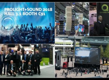 Prolight + Sound 2018: dBTechnologies presentará sus actualizaciones de line array y sub VIO