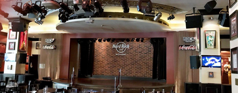 Ottocanali y Quattrocanali de Powersoft se suman al Hard Rock Café de Bucarest