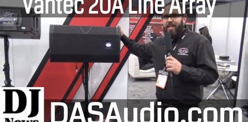 Nuevo sistema line array portátil Vantec20A y Vantec-118A de D.A.S. Audio