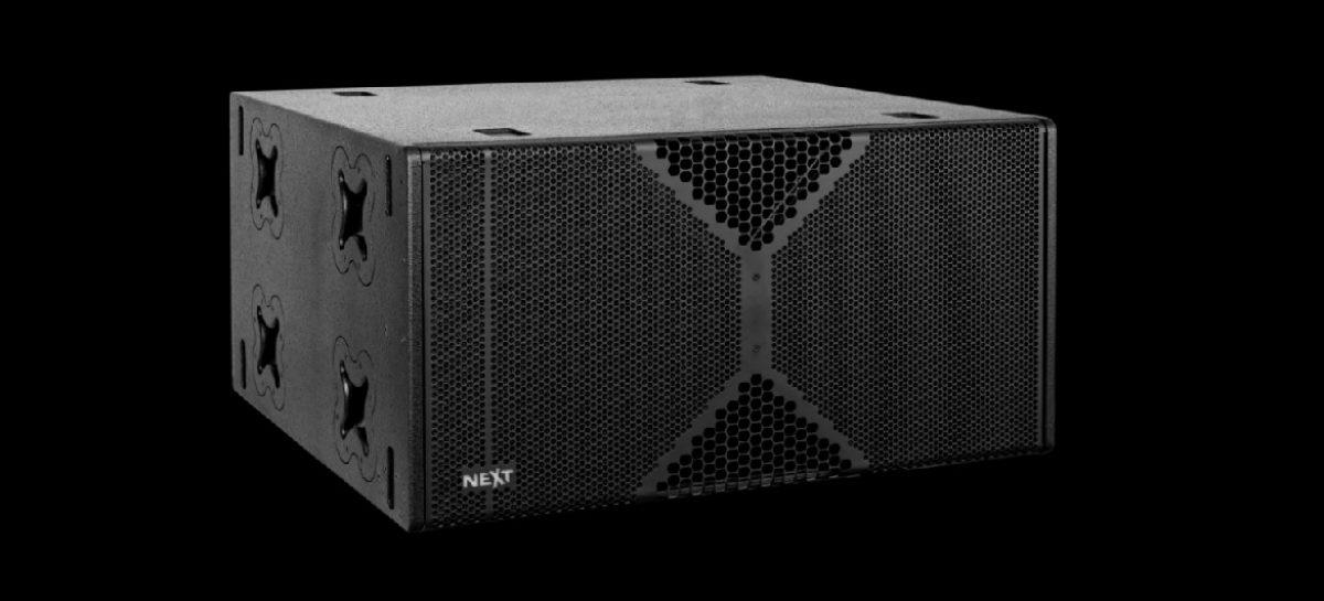 Prolight + Sound 2018: NEXT-proaudio lanza el subwoofer LAs418A