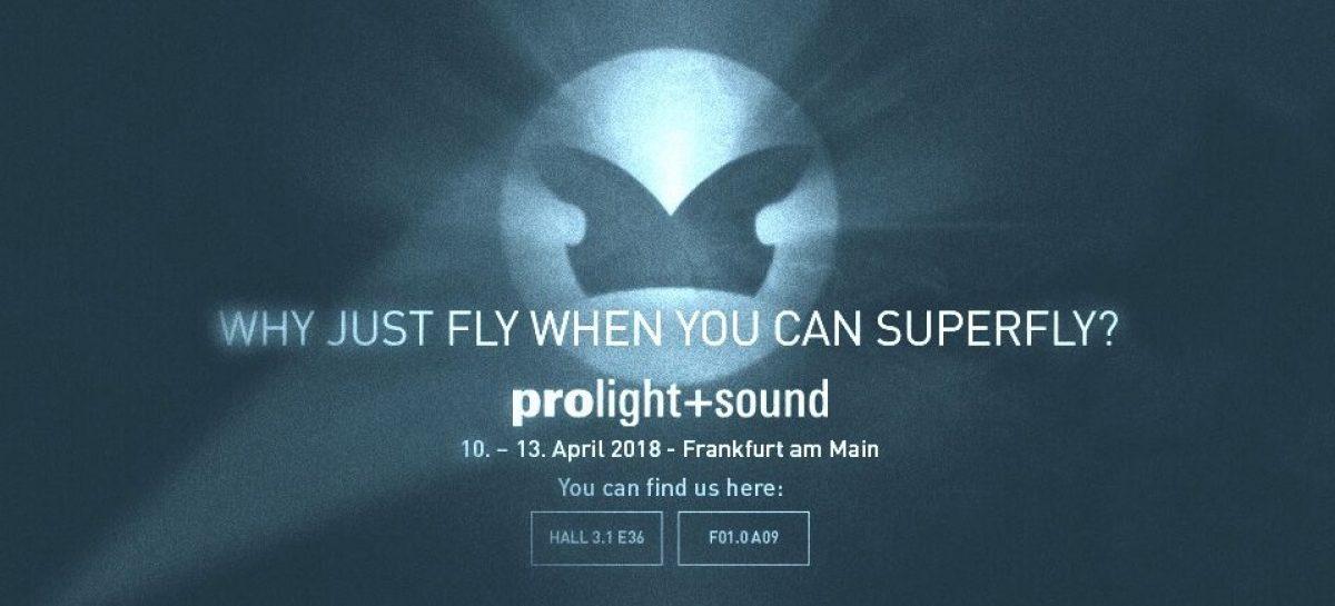 Prolight + Sound 2018: Superfly de Outline toma la feria