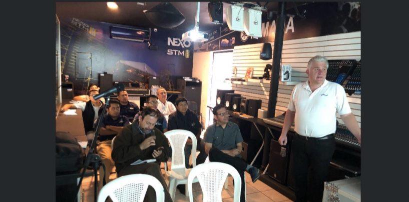 Guatemala gozó del Seminario de Amplificación para Instalaciones de Powersoft