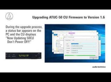 Nuevo firmware disponible para el sistema digital para conferencias ATUC-50 de Audio-Technica