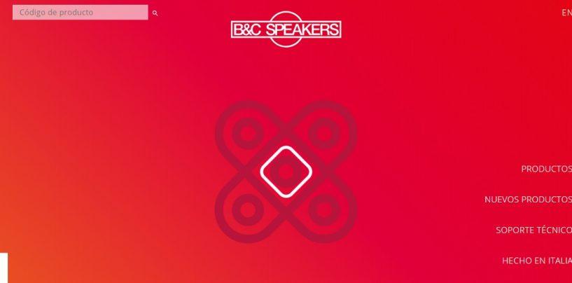 B&C Speakers ahora con sitio web en español