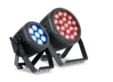 Nuevos SEVEN PAR IP Series de cambiadores de color LED de Elation