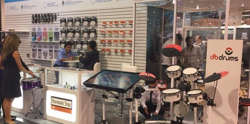 dbdrums fabrica baterías desde Argentina
