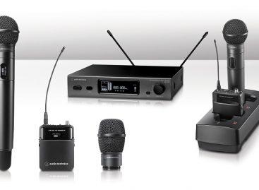 Audio-Technica presenta 4ta generación de sistemas inalámbricos UHF True Diversity de la serie 3000