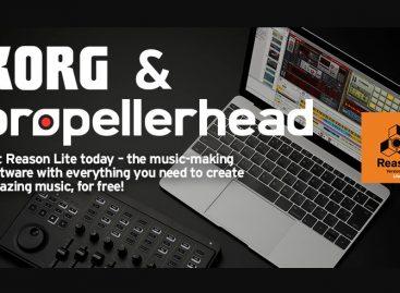 Korg y Propellerhead se asocian para ofrecer Reason Lite gratis