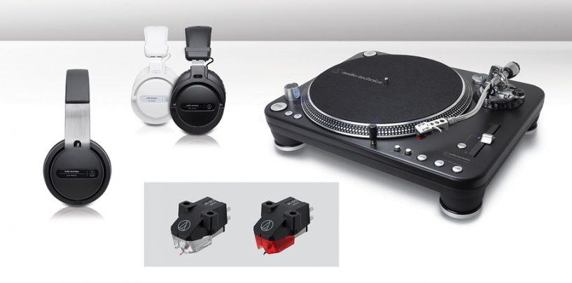 Nuevas incorporaciones a su línea de productos para DJ de Audio-Technica