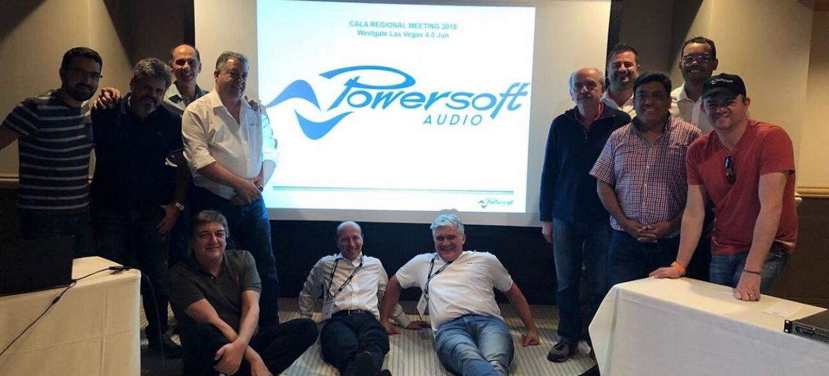 Powersoft realizó Reunión Anual de distribuidores Latinoamericanos en Las Vegas