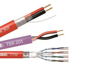 Tasker presenta el cable PH120 de seguridad contra incendios
