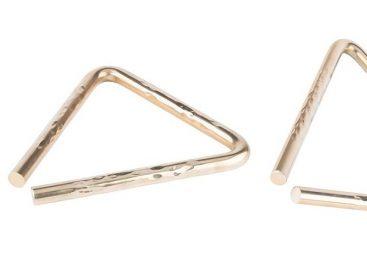 Nuevos triángulos de centro martillado de SABIAN