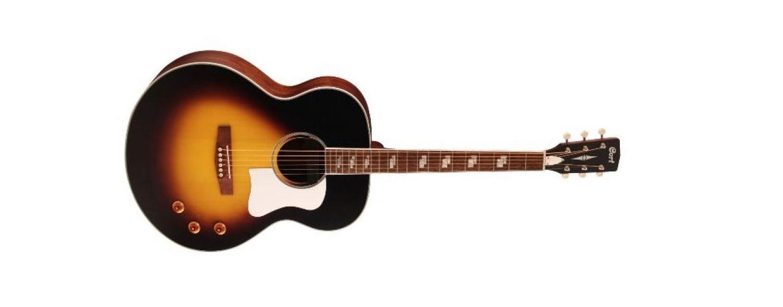 La guitarra electroacústica CJ-Retro Jumbo es lo nuevo de Cort