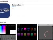 La aplicación eCast para el control de iluminación, es la nueva oferta de Elation
