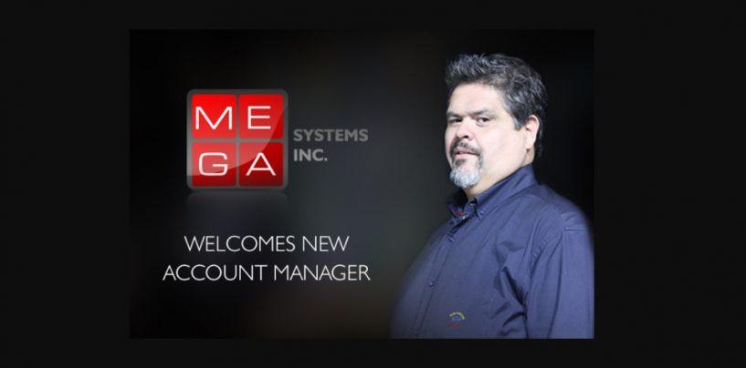 Tony Magaña se une a Mega Systems como Gerente de Cuenta
