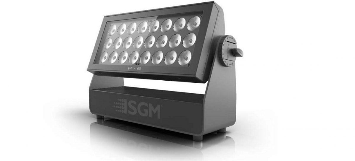 Nueva P-6 Wash de SGM Light