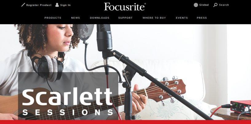 Focusrite presenta Scarlett Sessions con Raquel Rodriguez