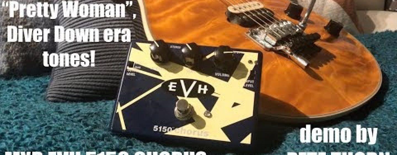 Ya está disponible el pedal EVH 5150 Chorus