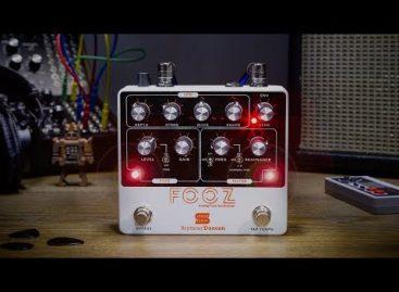 Nuevo FOOZ Analog Fuzz Synthesizer de Seymour Duncan