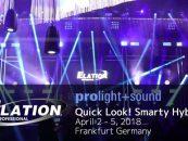 Elation presenta una nueva garantía Ultimate para Smarty Hybrid