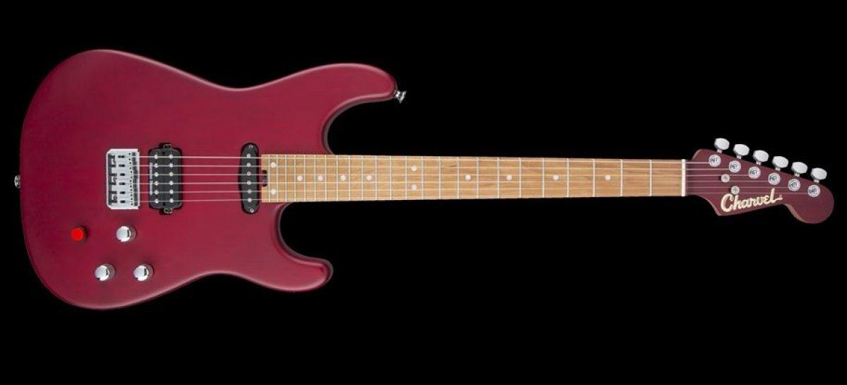 Charvel y el guitarrista Justin Aufdemkampe crearon nueva guitarra edición limitada