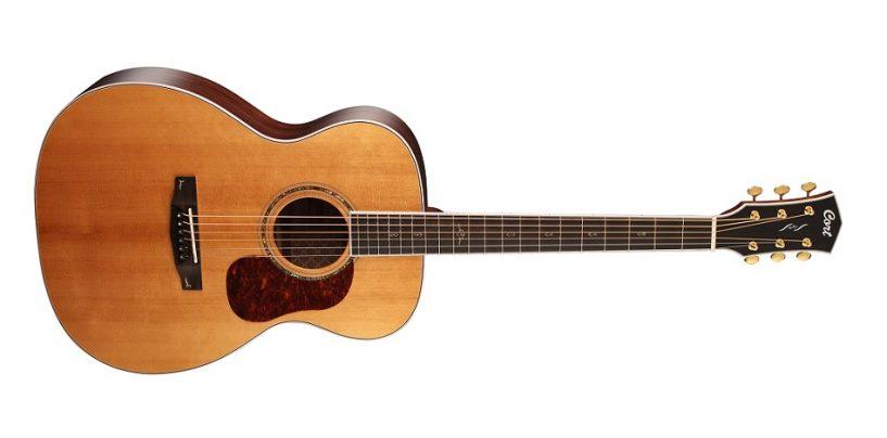 La nueva guitarra acústica Gold-08 se une a la familia Gold de Cort