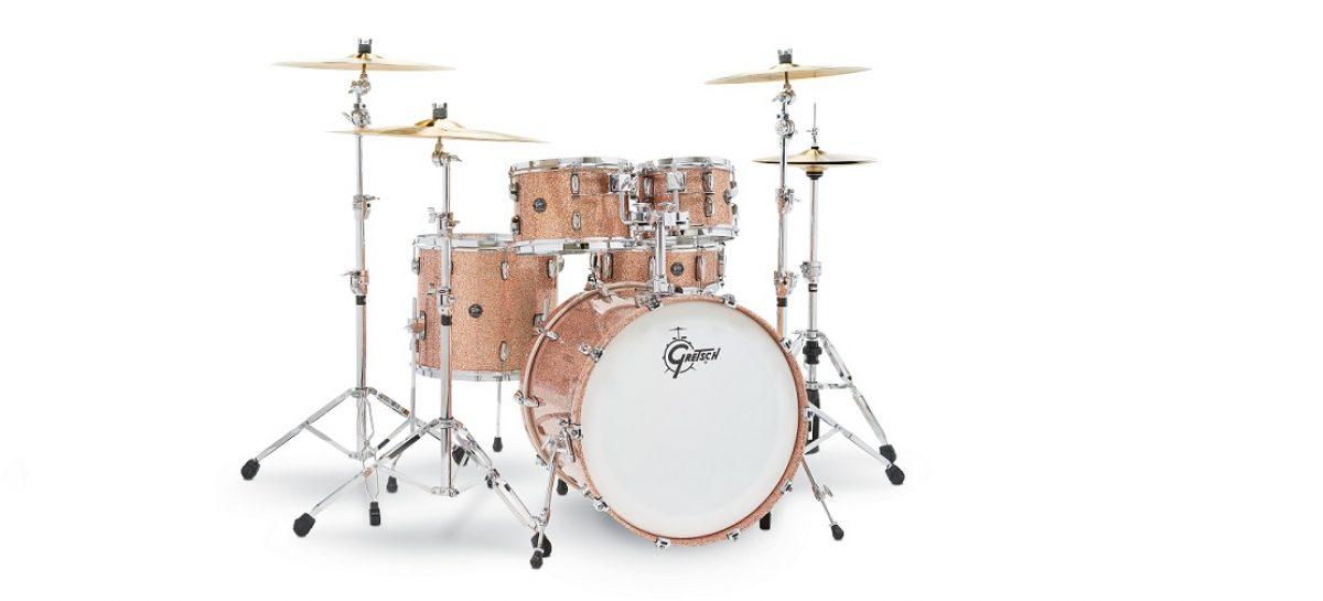 Gretsch y sus nuevos acabados de drumsets para este 2018
