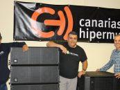 Canarias Hipermusic suministra sistema Event de D.A.S. Audio en Canarias