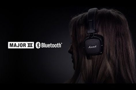 Nuevos audífonos Major III de Marshall Headphones