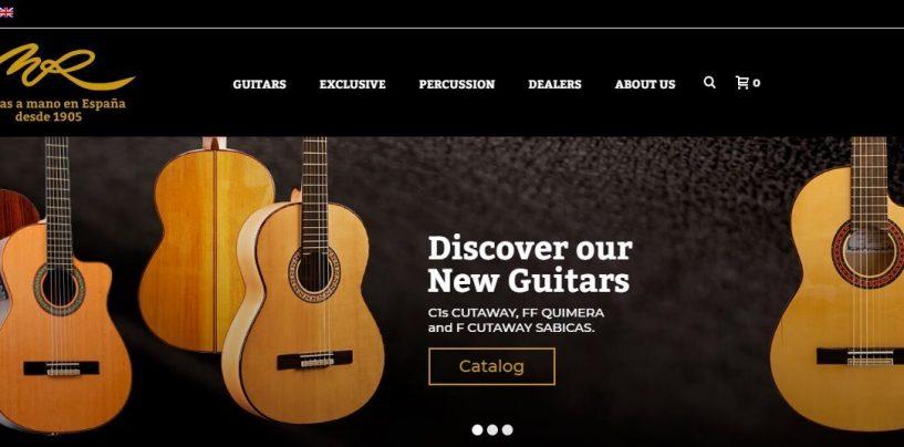 Grupo Sostenible, SA lanza nuevas guitarras Manuel Rodríguez