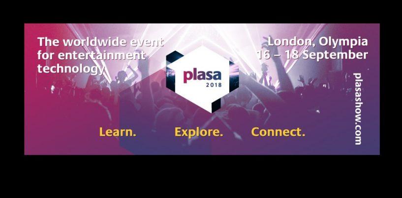 PLASA Show 2018: Ayrton estará presente en Londres