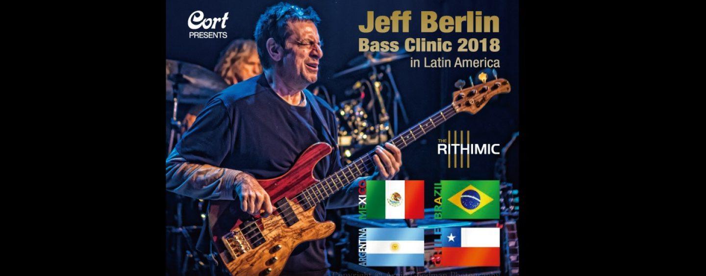 Jeff Berlin de paso por Latinoamérica