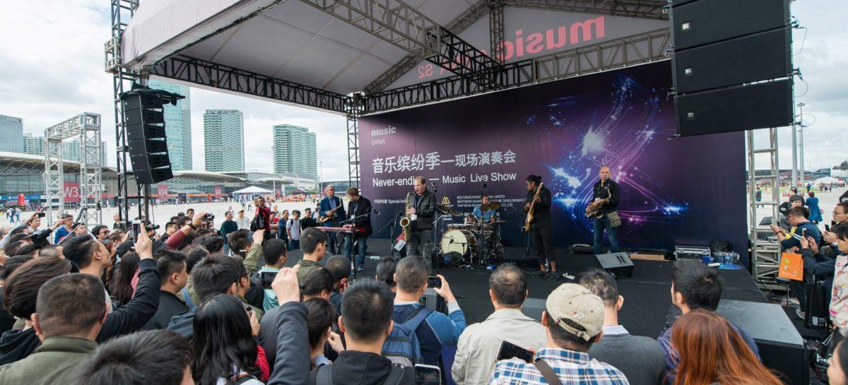 Feria Music China 2018 se expande a 12 salones