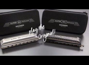 HOHNER presenta las nuevas harmónicas Super 64 y Super 64X