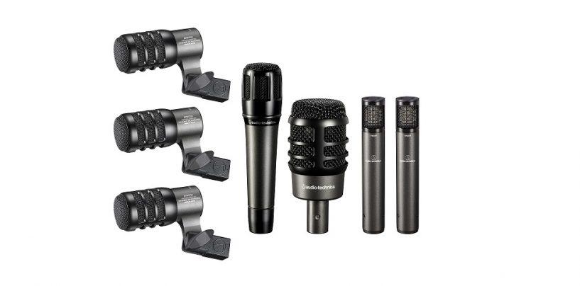 Audio-Technica ofrece paquetes de micrófonos para batería y vocales