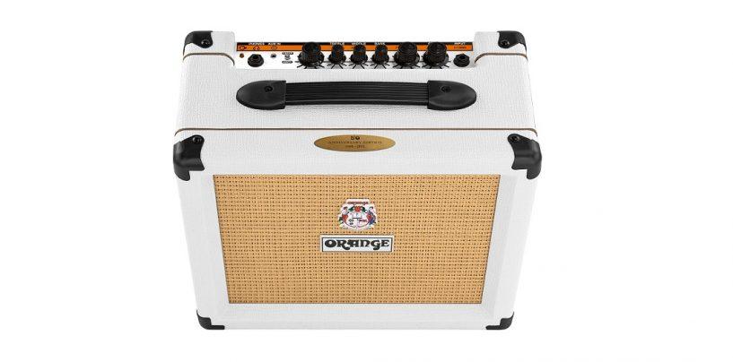 Orange Amplification presenta el amplificador edición limitada White Crush 20