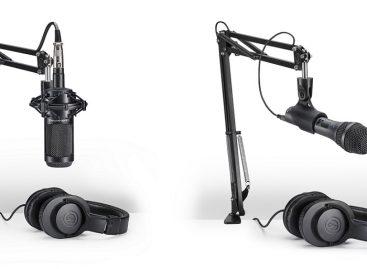 Audio-Technica ofrece nuevos paquetes de micrófonos para creadores de contenido