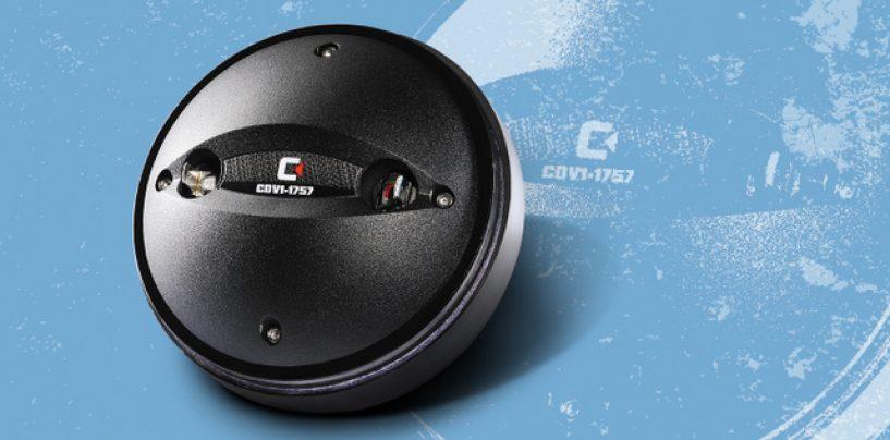 Celestion presentó el driver de compresión CDV1-1757