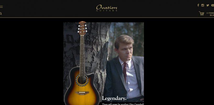 Ovation actualizó su sitio web