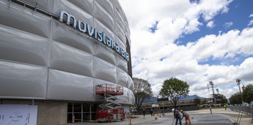Línea Estratégica solicitó luminarias Robe para las instalaciones de la Arena Movistar