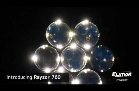 NAMM Show 2019: RAYZOR 760 de Elation llega a NAMM