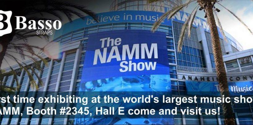 NAMM Show 2019: La brasileña Basso Straps presentará la ECOSTRAP en NAMM