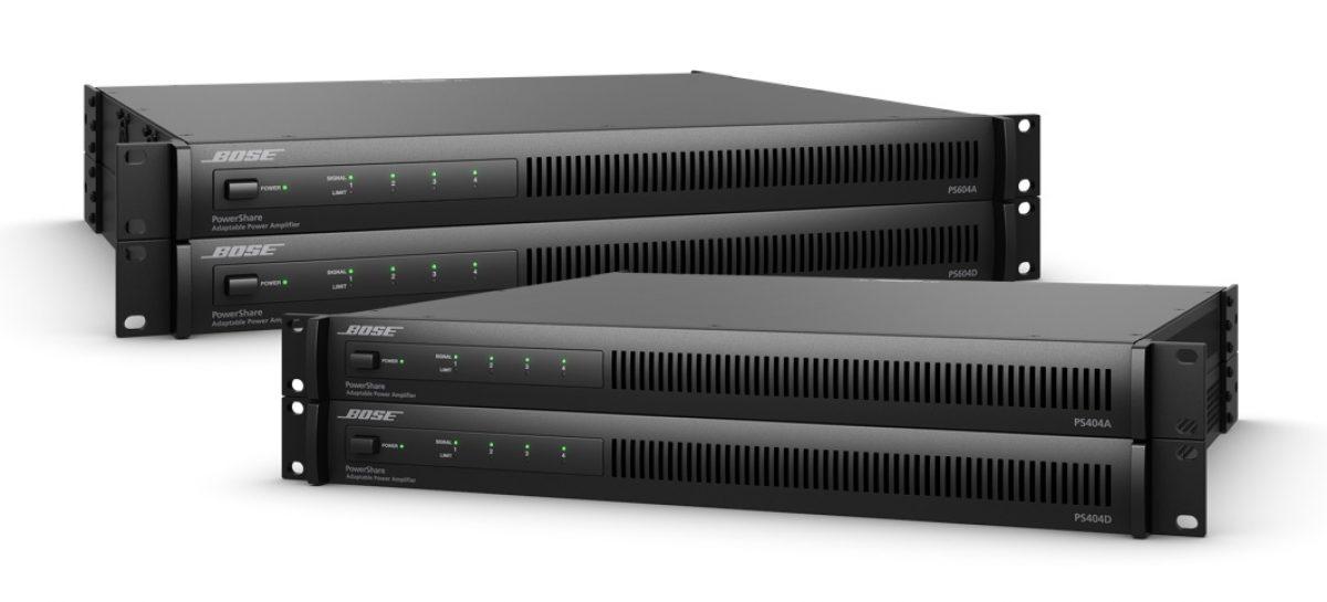 Nuevos amplificadores PowerShare de Bose Professional con tecnología Dante